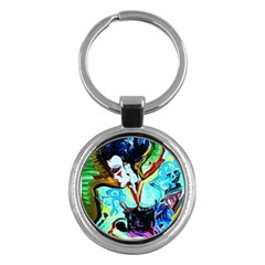 Woman Spirit Key Chains (round)