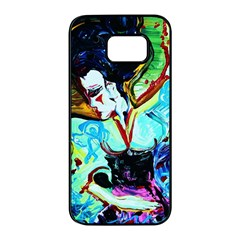 Woman Spirit Samsung Galaxy S7 Edge Black Seamless Case by bestdesignintheworld