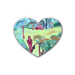 Trail 1 Heart Coaster (4 Pack)