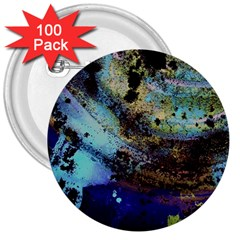 Blue Options 3 3  Buttons (100 Pack)