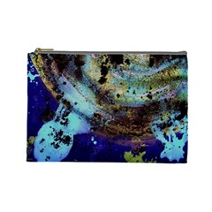 Blue Options 3 Cosmetic Bag (large)