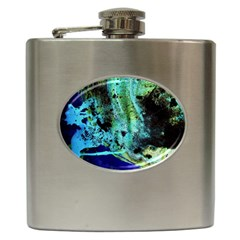 Blue Options 6 Hip Flask (6 Oz)