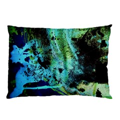 Blue Options 6 Pillow Case (two Sides)