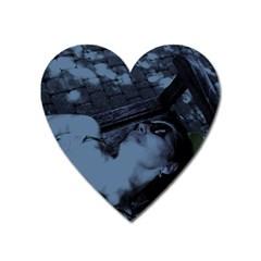 §¯§? §3§ü§?§t§?§?§ü§?   On A Bench Heart Magnet