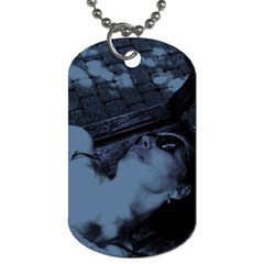 §¯§? §3§ü§?§t§?§?§ü§?   On A Bench Dog Tag (two Sides)