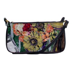 Sunflowers And Lamp Shoulder Clutch Bags