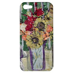 Sunflowers And Lamp Apple Iphone 5 Hardshell Case