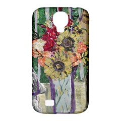 Sunflowers And Lamp Samsung Galaxy S4 Classic Hardshell Case (pc+silicone)