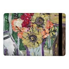 Sunflowers And Lamp Samsung Galaxy Tab Pro 10 1  Flip Case by bestdesignintheworld