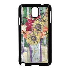 Sunflowers And Lamp Samsung Galaxy Note 3 Neo Hardshell Case (black)
