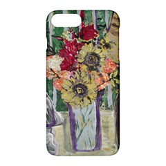 Sunflowers And Lamp Apple Iphone 7 Plus Hardshell Case