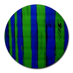Stripes Round Mousepads