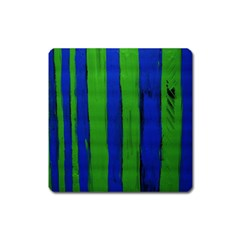 Stripes Square Magnet