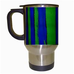 Stripes Travel Mugs (white) by bestdesignintheworld