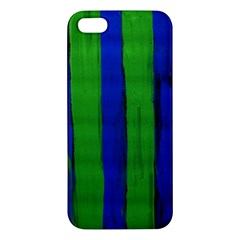Stripes Apple Iphone 5 Premium Hardshell Case