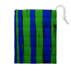 Stripes Drawstring Pouches (extra Large)