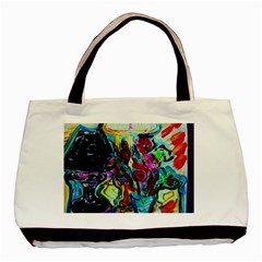 Still Life With Two Lamps Basic Tote Bag