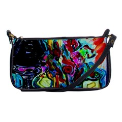 Still Life With Two Lamps Shoulder Clutch Bags