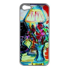 Still Life With Two Lamps Apple Iphone 5 Case (silver)