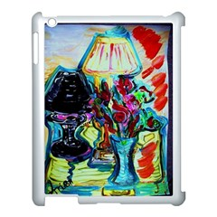 Still Life With Two Lamps Apple Ipad 3/4 Case (white)