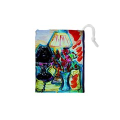 Still Life With Two Lamps Drawstring Pouches (xs)
