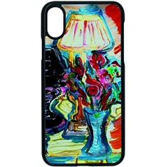 Still Life With Two Lamps Apple Iphone X Seamless Case (black)