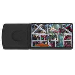 Still Life With Tangerines And Pine Brunch Rectangular Usb Flash Drive