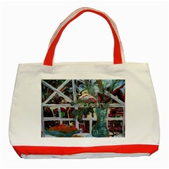 Still Life With Tangerines And Pine Brunch Classic Tote Bag (red)