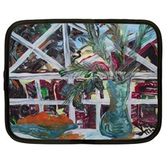 Still Life With Tangerines And Pine Brunch Netbook Case (xxl)