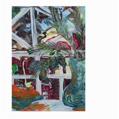 Still Life With Tangerines And Pine Brunch Large Garden Flag (two Sides)