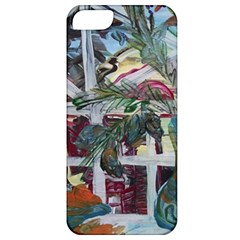 Still Life With Tangerines And Pine Brunch Apple Iphone 5 Classic Hardshell Case