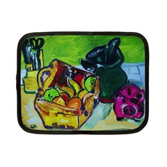 Still Life With A Pig Bank Netbook Case (small)