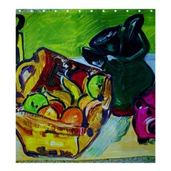 Still Life With A Pig Bank Shower Curtain 66  X 72  (large)