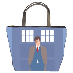 Tenth Doctor And His Tardis Bucket Bags