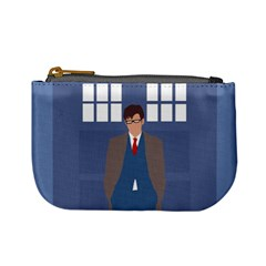 Tenth Doctor And His Tardis Mini Coin Purses