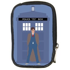 Tenth Doctor And His Tardis Compact Camera Cases
