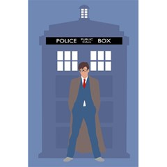 Tenth Doctor And His Tardis 5 5  X 8 5  Notebooks