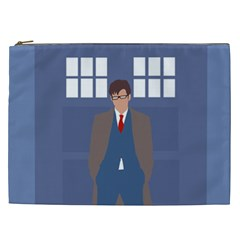 Tenth Doctor And His Tardis Cosmetic Bag (xxl)