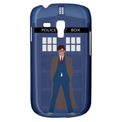 Tenth Doctor And His Tardis Galaxy S3 Mini