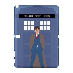 Tenth Doctor And His Tardis Galaxy Note 1