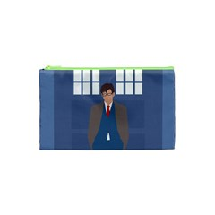 Tenth Doctor And His Tardis Cosmetic Bag (xs)