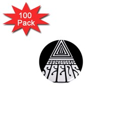 Psychedelic Seeds Logo 1  Mini Magnets (100 Pack)