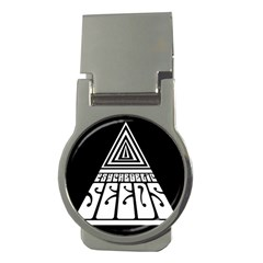 Psychedelic Seeds Logo Money Clips (round)