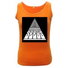 Psychedelic Seeds Logo Women s Dark Tank Top