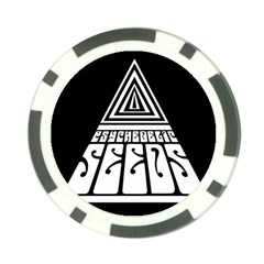 Psychedelic Seeds Logo Poker Chip Card Guard (10 Pack)
