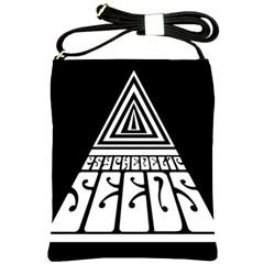 Psychedelic Seeds Logo Shoulder Sling Bags