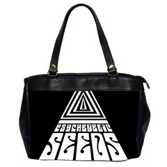 Psychedelic Seeds Logo Office Handbags (2 Sides)