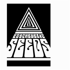 Psychedelic Seeds Logo Small Garden Flag (two Sides) by Samandel