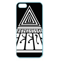 Psychedelic Seeds Logo Apple Seamless Iphone 5 Case (color) by Samandel