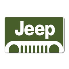 Only In A Jeep Logo Magnet (rectangular)